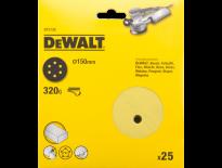 DeWalt DT3138 Schuurschijf - K320 - 150mm (25st) - DT3138-QZ