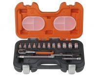 Bahco S160 16 delige Dopsleutelset in koffer