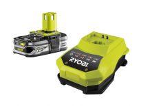 Ryobi RBC18L15 18V Li-Ion accu starterset (1x 1.5Ah) + lader - 5133001910