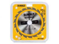 DeWalt DT1943 Cirkelzaagblad - 190 x 30 x 18T - Hout (met nagels) - DT1943-QZ