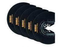 DeWalt DT20729 BiM Segmentzaagblad - 102mm (5st) gebogen 102 mm 5 stuks - DT20729-QZ