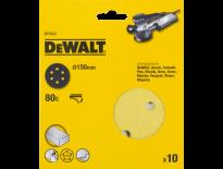 DeWalt DT3123 Schuurschijf - K80 - 150mm (10st) - DT3123-QZ