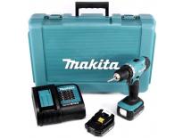 Makita DDF343SYE 14.4V Li-Ion accu boor-/schroefmachine set (2x 1.5Ah accu) in koffer