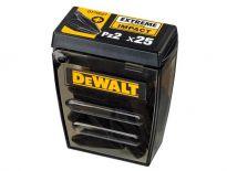 DeWalt DT70527 'Tic Tac' Extreme Impact PZ2 schroefbits 25mm (25st)