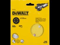 DeWalt DT3132 Schuurschijf - K60 - 150mm (25st) - DT3132-QZ