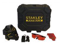 Stanley FatMax X3R 3X 360 graden laser in koffer - 20m - rood