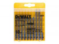 DeWalt DT2292 10 delige decoupeerzaagbladen set voor metaal in cassette - DT2292-QZ