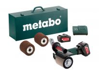 Metabo S 18 LTX 115 SET 18V Li-Ion accu satineermachine set (2 x 5.2Ah accu) in koffer - 600154880