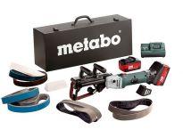 Metabo RB 18 LTX 60 Set 18V Li-Ion accu buizenslijpmachine + accessoire set (2x 4,0Ah accu) in koffer - 60019287