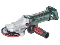 Metabo WF 18 LTX 125 QUICK 18V Li-Ion accu platkop haakse slijper body in MetaLoc - 125mm - 601306840