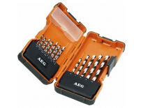 AEG 4932352243 19 delige HSS-G Metaalboren in koffer - 2-10mm