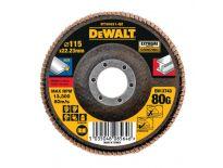 DeWalt DT30621 Lamellen schuurschijf - K80 - 115mm (10st) - DT30621-QZ