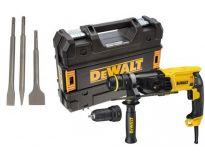 DeWalt D25134KP SDS-plus combihamer + snelwisselboorkop incl. beitelset in TSTAK - 800W - 2.8J - D25134KP-QS