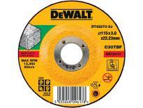 DeWalt DT42270 Doorslijpschijf verzonken centrum voor steen - 115x3mm (25st)