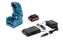 Bosch 1600A00C4B Wireless Charging holster + GAL 1830 W-DC + GBA 18 V 2,0 Ah MW-C set voor in de auto