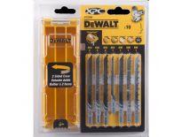 DeWalt DT2296 10 delige decoupeerzaagbladenset in cassette - DT2296-QZ