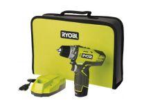 Ryobi R12DD-L13S 12V Li-Ion accu Boor-/schroefmachine set (1x 1.3Ah accu) in tas - 10mm - 5133001800