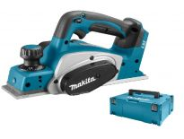 Makita DKP180ZJ 18V Li-Ion accu schaafmachine in Mbox - 82mm - 2mm