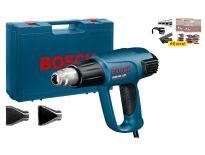 Bosch GHG 660 LCD Heteluchtpistool + accessoires in koffer - 2300W - 0601944302
