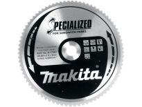 Makita B-17697 Specialized Cirkelzaagblad - 355 x 30 x 80T - Metaal