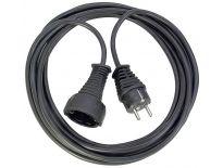 Brennenstuhl 1165460 Kwaliteits kunststof verlengsnoer zwart - H05VV-F 3G1,5 - 10m