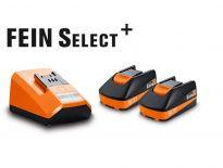 Fein 92604300040 18V Li-Ion accu starterset (2x 2,5Ah accu)
