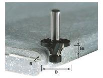 Festool 492681 / HW R3/D22 ss S12 Afrondfrees - 12 mm HW schacht