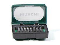 "Hitachi 711000 Bitset 10-delig - 1/4"" - 40 mm"