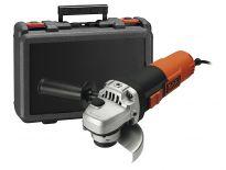 Black & Decker KG911K Haakse slijper in koffer - 900W - 115mm - KG911K-QS
