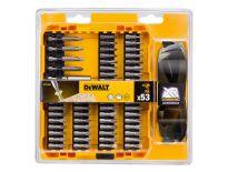 Dewalt DT71540 53 delige schroevenset in cassette + beschermende zonnebril - DT71540-QZ