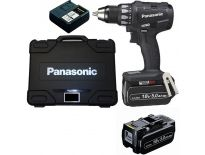 Panasonic EY74A2LJ2G 14,4V / 18V Li-Ion accu boor-/schroefmachine set (2x 5.0Ah accu) in koffer - koolborstelloos
