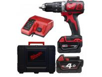 Milwaukee M18 BPD-402C 18V Li-Ion accu klopboor-/schroefmachine set (2x 4.0Ah accu) in koffer - 4933443520