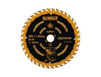 DeWalt DT10301 Extreme Cirkelzaagblad - 165 x 20 x 40T - Hout (Met nagels) - DT10301-QZ