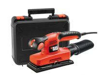 Black and Decker KA320EKA vlak schuurmachine in koffer - 240W - 92x230mm