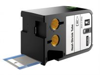 Dymo 1868810 Krimpkous tape zwart/wit - 12mm