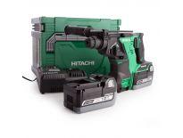 Hitachi DH36DBLWE SDS-plus Combihamer set (2x 2,6Ah accu) in HSC - koolborstelloos - 93201252