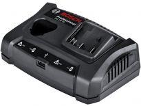 Bosch GAX 18 V-30 10,8V - 18V Lithium-Ion accu Oplader met USB - 1600A011A9