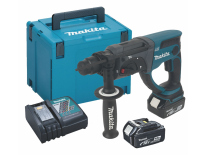 Makita DHR202RMJ 18V Li-Ion Accu SDS-plus combihamer set (2x 4.0Ah accu) in Mbox - 2J