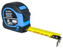 Wofix 7291642 MultiMax Rolmaat met magnetisch uiteinde en gecoate stalen band - 10M - bandbreedte 25mm