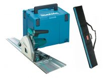 Makita SP6000J1X invalzaag incl 1400mm geleiderail en Foudraal in MBox - 1300W - 165mm
