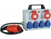 Brennenstuhl 1153650 Mini stroomverdeler H07RN-F 5G1,5. - 2m