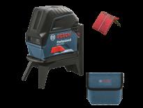 Bosch GCL 2-15 Kruislijnlaser met loodlijnfunctie in tas - 15m - 0601066E00