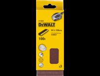 DeWalt DT3663 Schuurband - P100 - 64x356mm (3st) - DT3663-QZ