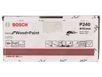 Bosch 2608607884 Schuurvel C470 - Delta - K240 - 93mm (50st)