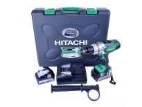 Hitachi DV18DSDL 18V accu klopboor-/schroefmachine set (2x 5.0Ah accu) in koffer