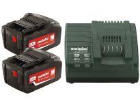 Metabo 685050000 Starterset 18V 2x 4.0Ah accu + oplader - ME1852 - ASC 30-36