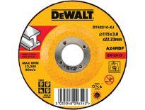 DeWalt DT42210 Doorslijpschijven verzonken centrum voor metaal - 115x3mm (25st) - DT42210-XJ