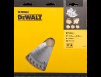 DeWalt DT4064 Extreme Cirkelzaagblad - 190 x 30 x 40T - Hout / Laminaat  - DT4064-QZ