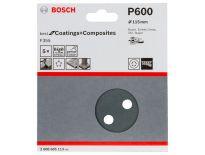 Bosch 2608605113 Schuurschijf F355 - K600 - 115mm (5st)