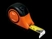 Bahco MTB-5-25-M-E Rolmaat met blokkeerknop - 5m - Metrisch/inch